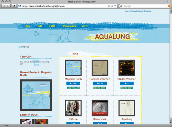 Aqualung Store more sample images