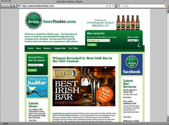 Irish Beer Finder more sample images