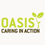 Oasis Caring In Action logo